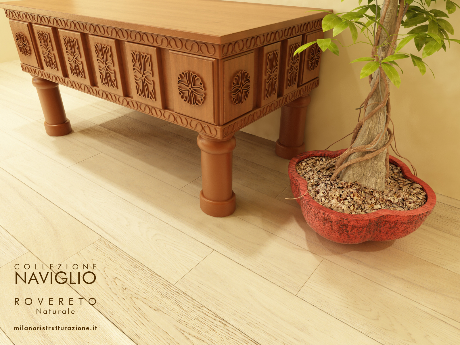 pavimento legno offerta