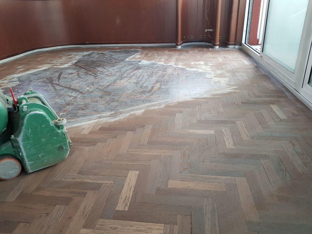 Restauro lamatura parquet Nerviano