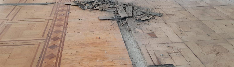 Restauro lamatura parquet a Corsico